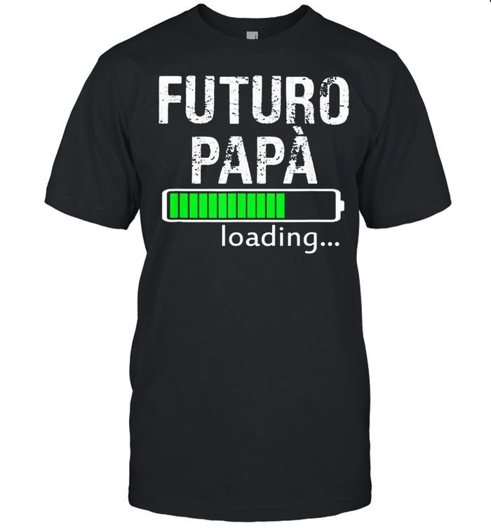 Futuro papa loading shirt Classic Men's T-shirt