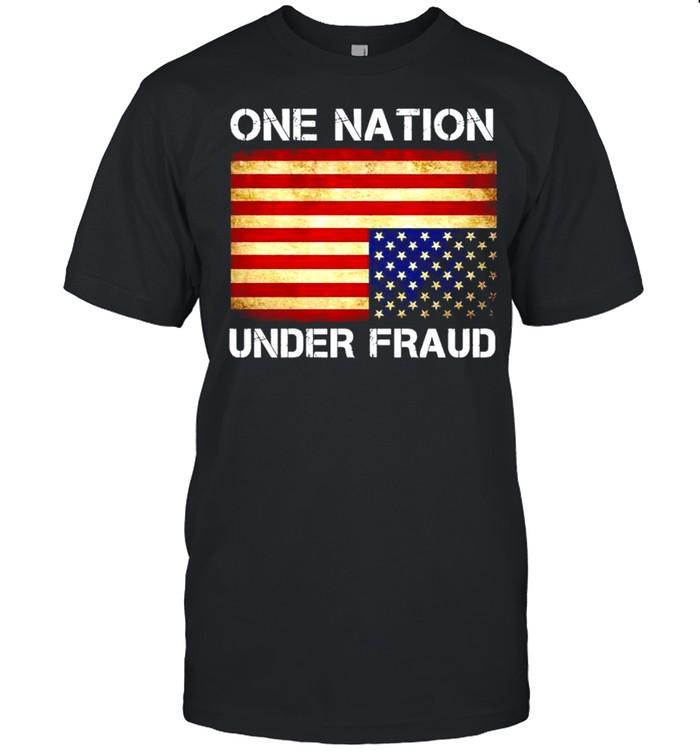 One nation under fraud American shirt Classic Men's T-shirt