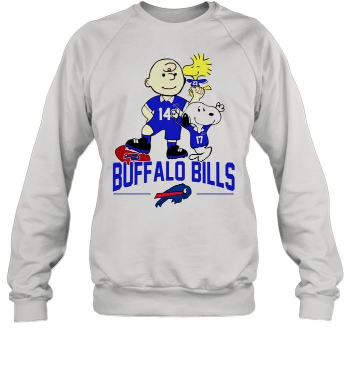 Snoopy and Charlie Brown Buffalo Bills shirt Unisex Sweatshirt