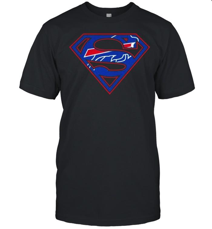 Buffalo Bills Raiders Superman 2021 shirt Classic Men's T-shirt