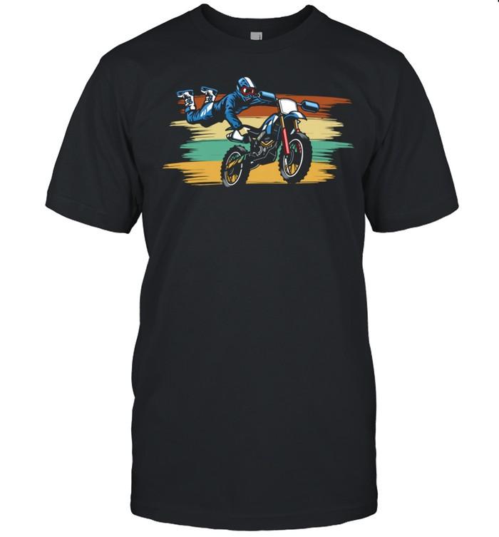 Cool Stunt BMX dirt bike Fun racings shirt