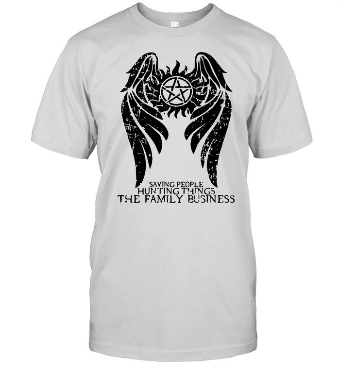 Saving People And Hunting Things The Family Business Angle Symbol Winchester Brothers shirt Classic Men's T-shirt