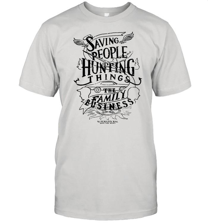 Saving People Huting Things The Family shirt Classic Men's T-shirt
