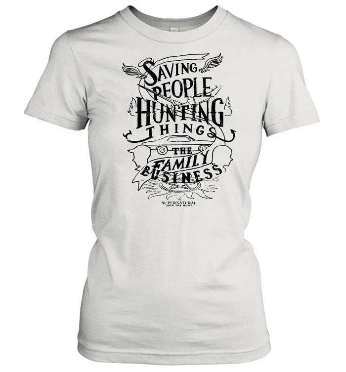 Saving People Huting Things The Family shirt Classic Women's T-shirt