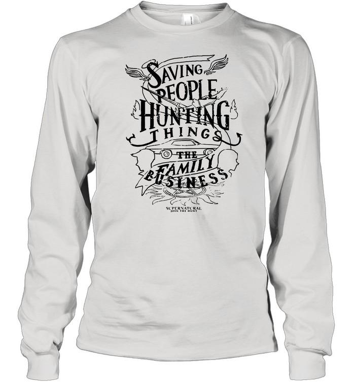 Saving People Huting Things The Family shirt Long Sleeved T-shirt
