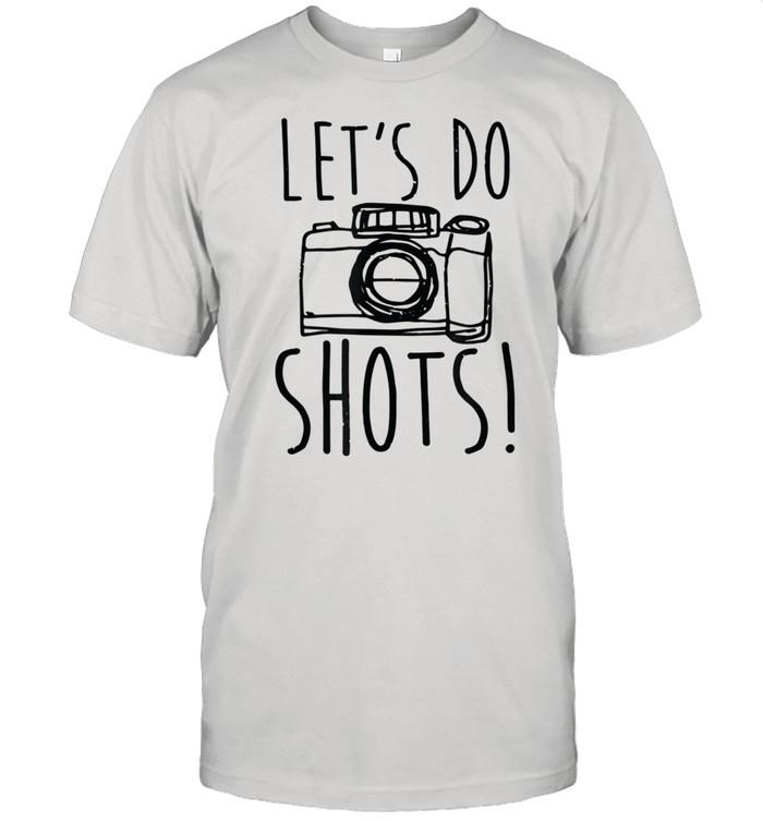 Lets Do Shots Camera Photographer shirt Classic Men's T-shirt