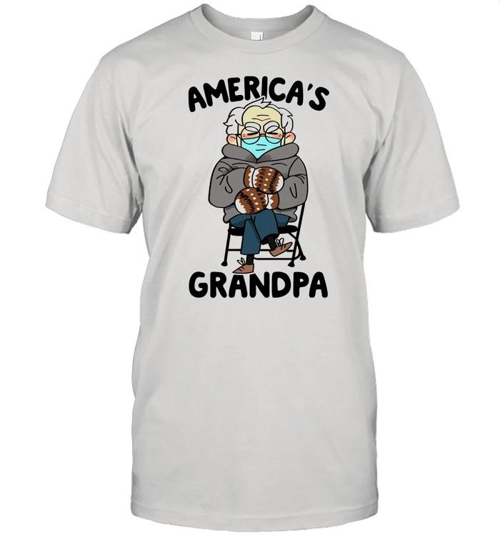 Bernie Sanders Americas Grandpa shirt Classic Men's T-shirt