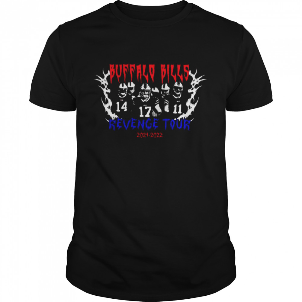 Buffalo Bills Revenge Tour 2021 2022 shirt