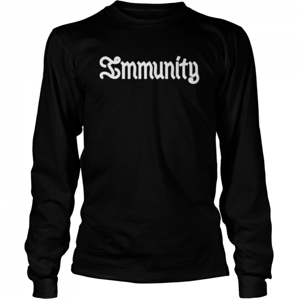 immunity clairo shirt Long Sleeved T-shirt