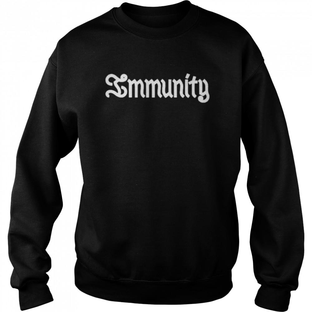 immunity clairo shirt Unisex Sweatshirt