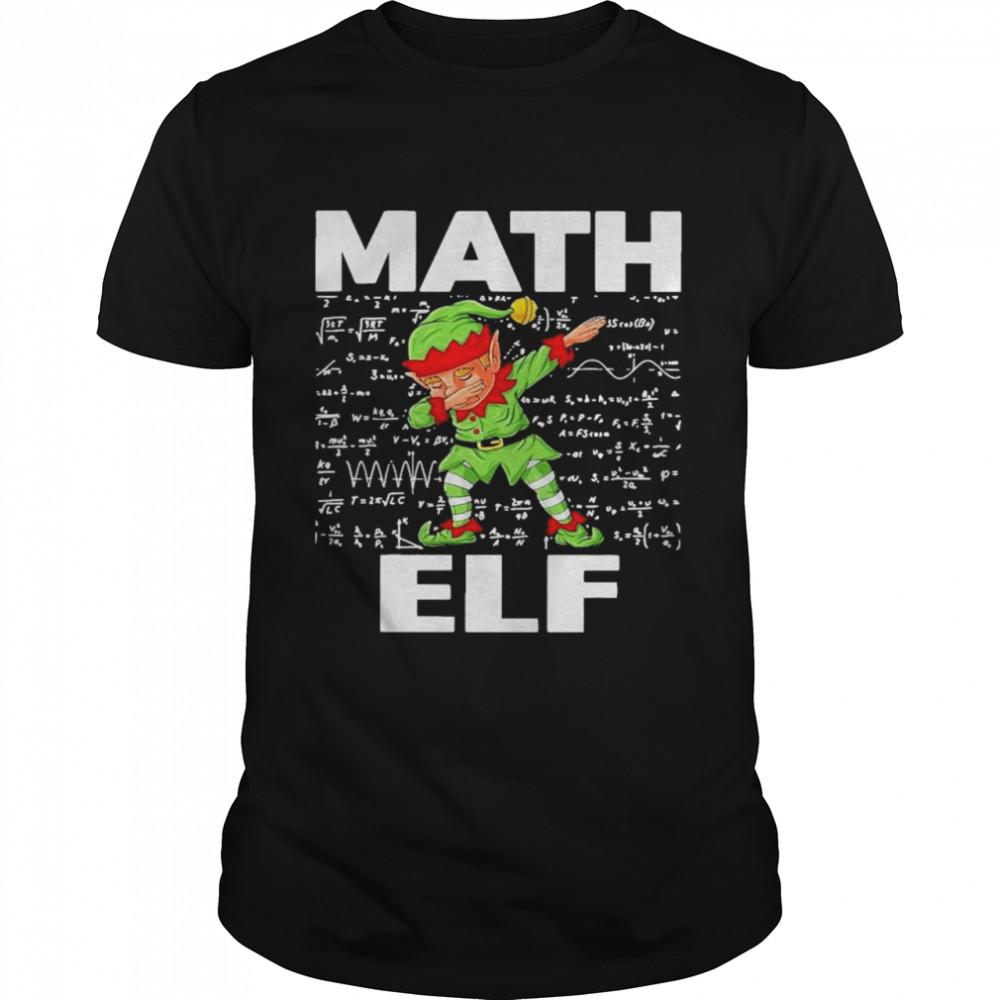 The Math Elf Dabbing 2021 shirt Classic Men's T-shirt