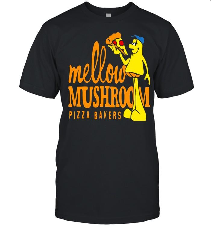 Mellow Climbing Merchandise Mushroom Pizza Bakers shirt Classic Men's T-shirt
