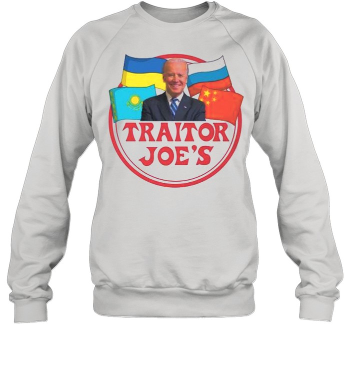 Joe Biden traitor Joes shirt Unisex Sweatshirt