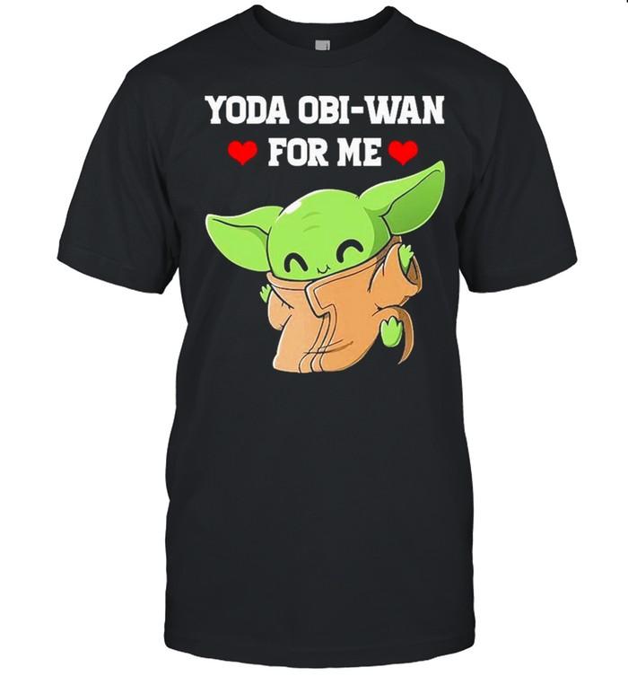 Baby Yoda Obi Wan For Me 2021 shirt Classic Men's T-shirt