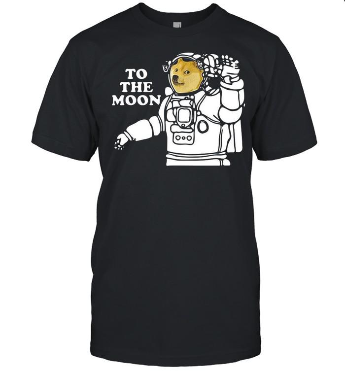 Dogecoin To The Moon Cool 2021 shirt Classic Men's T-shirt