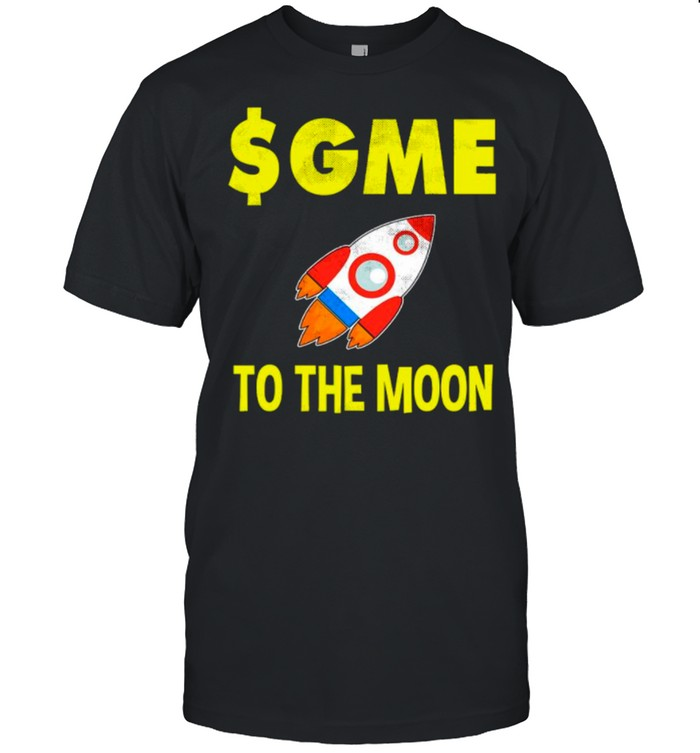 $GME To The Moon Ff GameStonk shirt