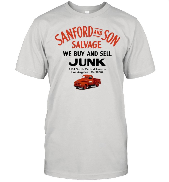Sanford And Son Salvage We Buy And Sell Junk Car shirt Classic Men's T-shirt