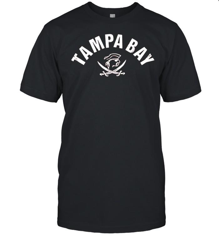 Tampa Bay Old School Pirate TB Cool Tampa Bay shirt