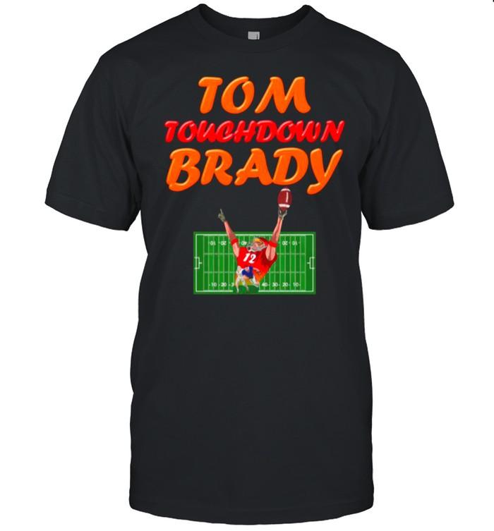 The Tom Touchdown Brady 12 2021 shirt Classic Men's T-shirt