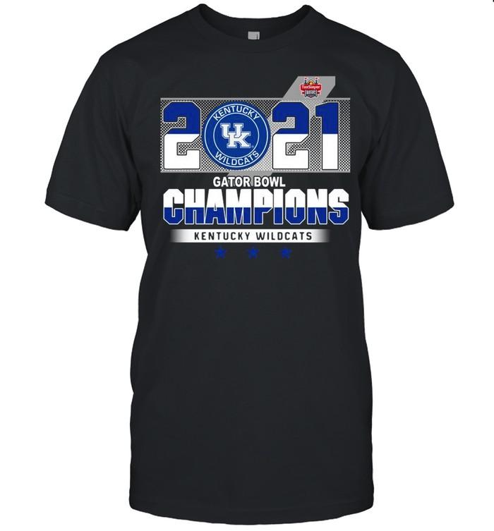 Taxslayer Kentucky Wildcats 2021 Gator Bowl Champions shirt Classic Men's T-shirt