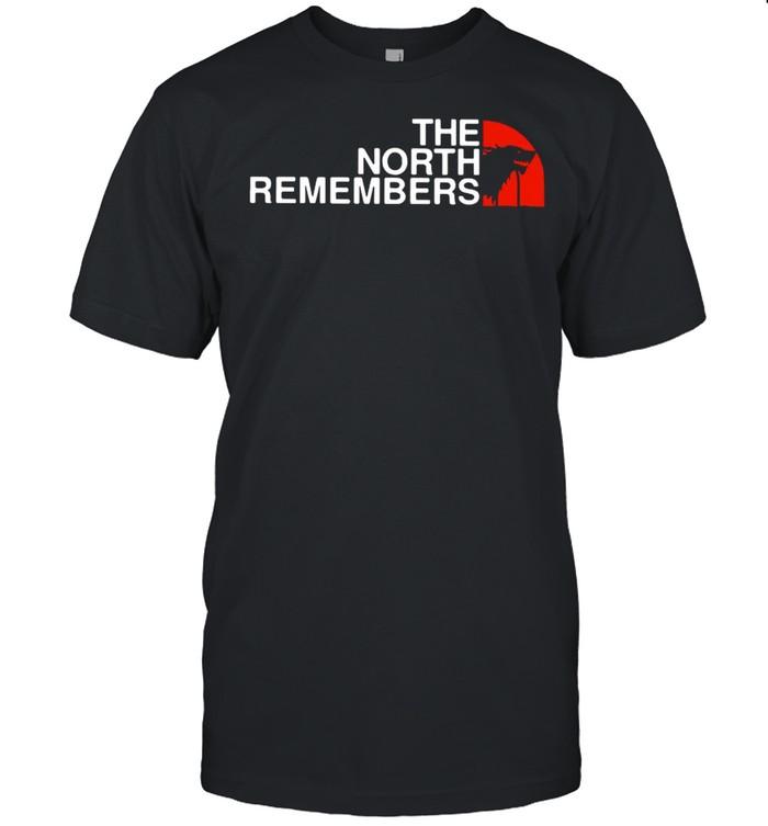 The north remembers shirt Classic Men's T-shirt