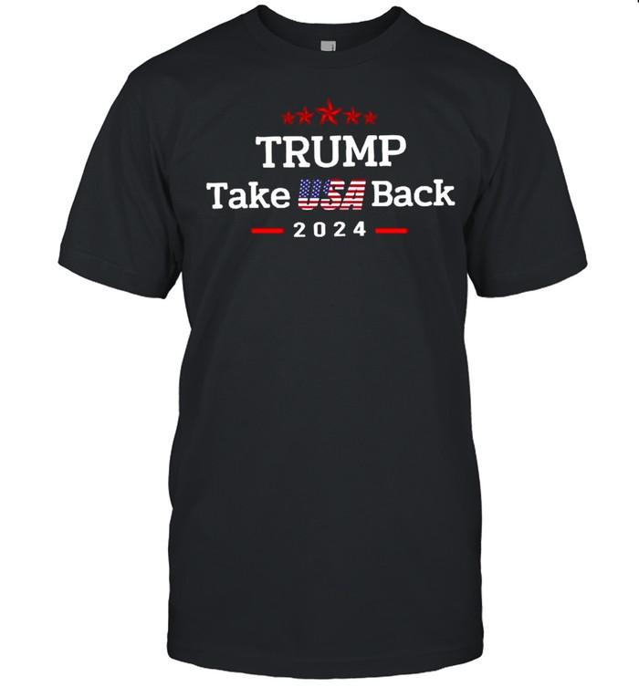 Trump Take Usa Back 2021 shirt Classic Men's T-shirt