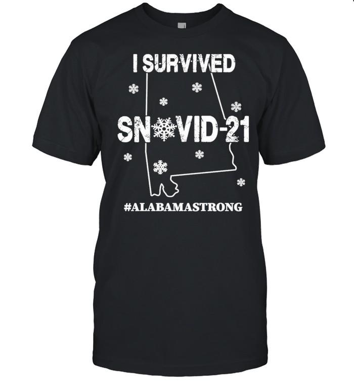I Survived Snovid-21 #Alabamastrong shirt