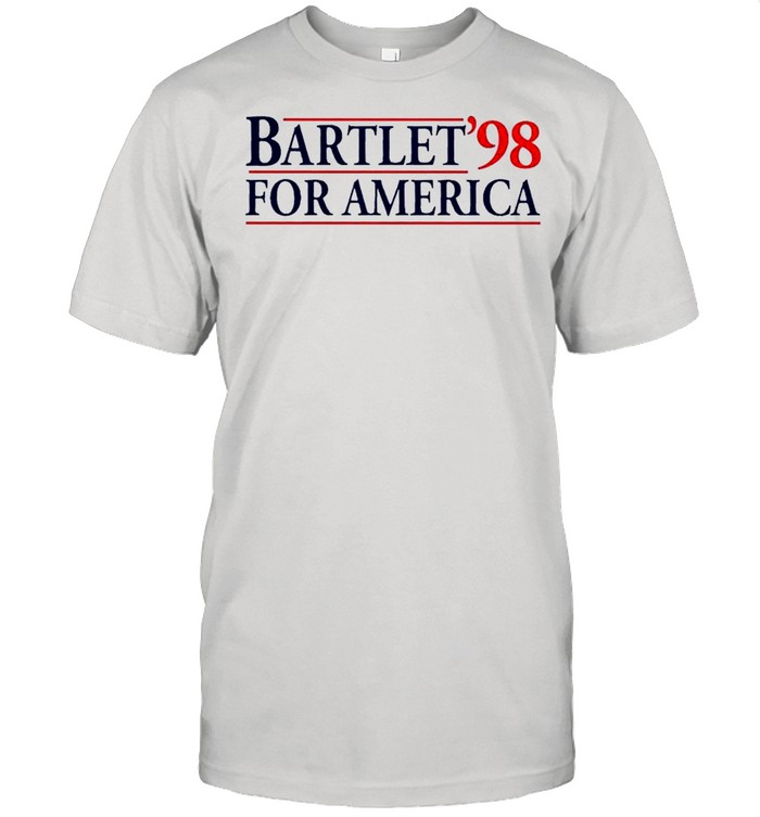 The Bartlet For America98 shirt