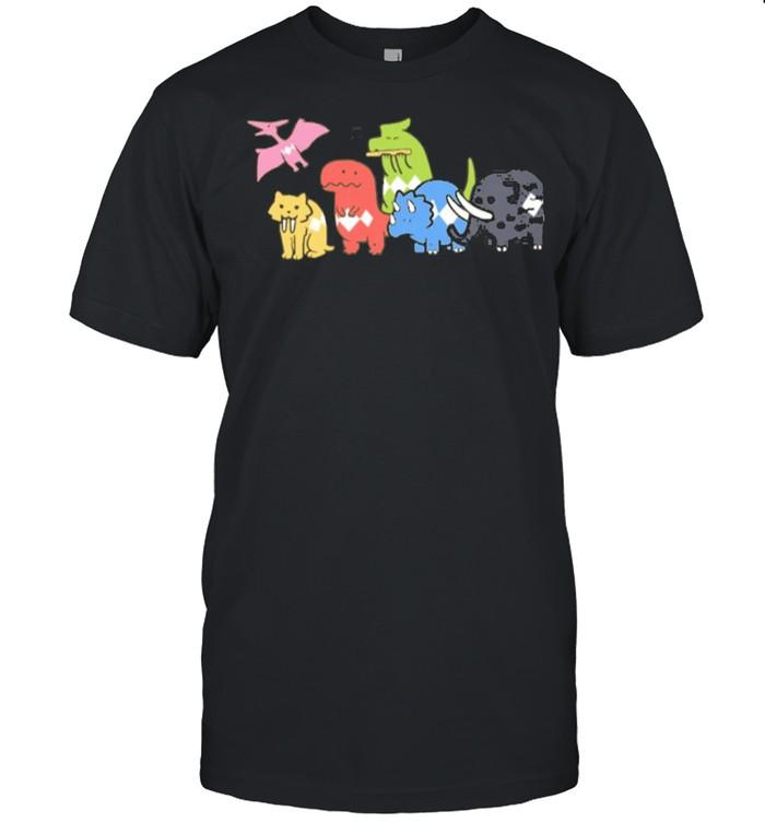 Capture Cartoon Animal shirt