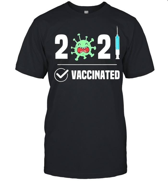 Get Vaccinated 2021 Covid 19 shirt Classic Men's T-shirt