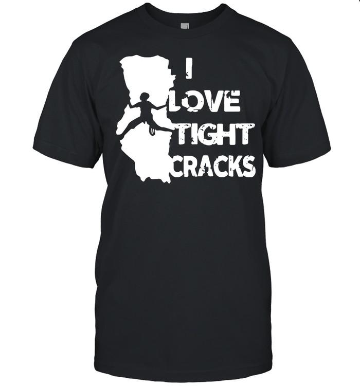 I Love Tight Crack shirt Classic Men's T-shirt