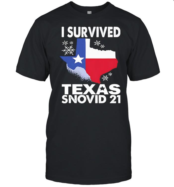 I Survived Covid 2021 Texas Snovid 21 shirt