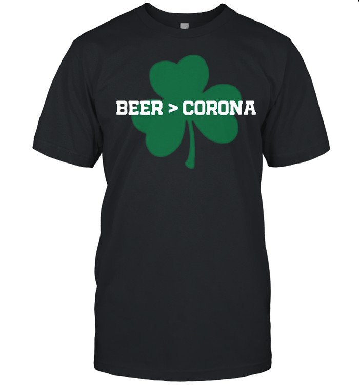 Beer Corona Saint Patricks Day 2021 shirt