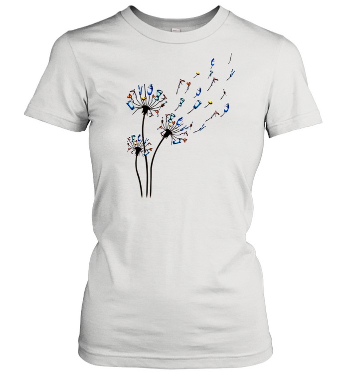 Dandelion Bartender Flower shirt Classic Women's T-shirt