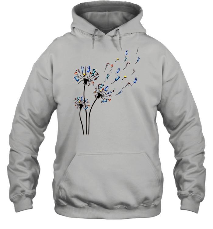 Dandelion Bartender Flower shirt Unisex Hoodie