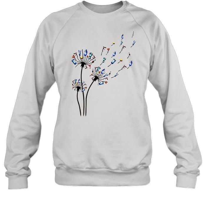 Dandelion Bartender Flower shirt Unisex Sweatshirt