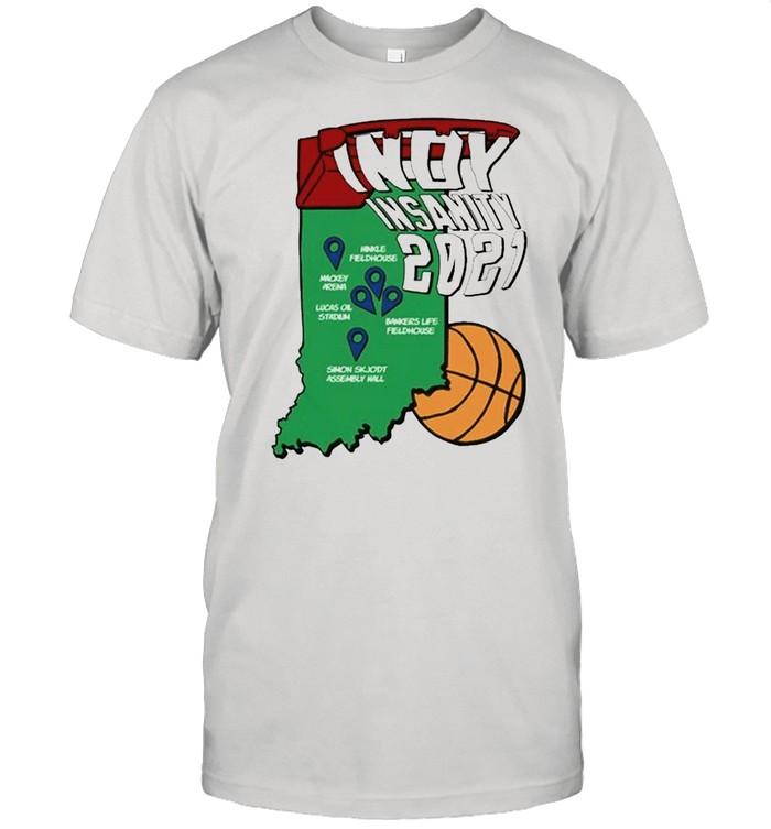 Indy Insanity 2021 Basketball shirt