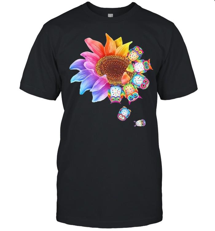 Sunflower Owl shirt Classic Men's T-shirt