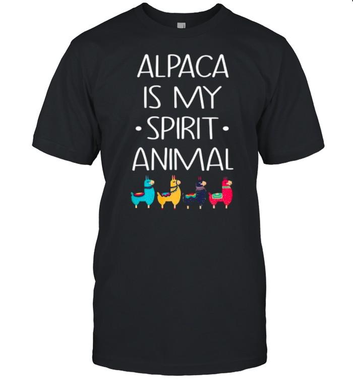 Alpaca Is My Spirit Animal shirt Classic Men's T-shirt