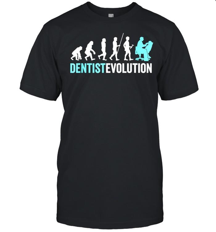 Dentist Evolution Dental Hygienist Dentist shirt Classic Men's T-shirt