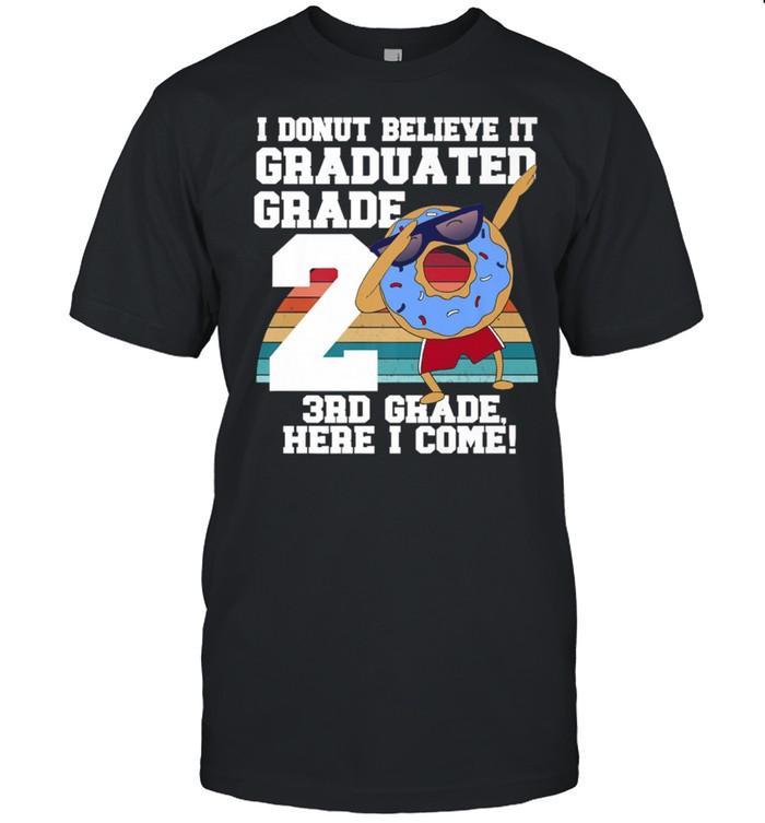 I Donut 2nd Grade Graduation Meme shirt Classic Men's T-shirt
