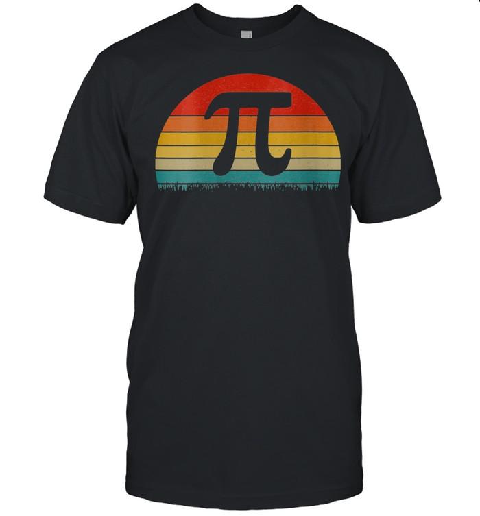 Vintage Pi Day Math Nerd shirt Classic Men's T-shirt