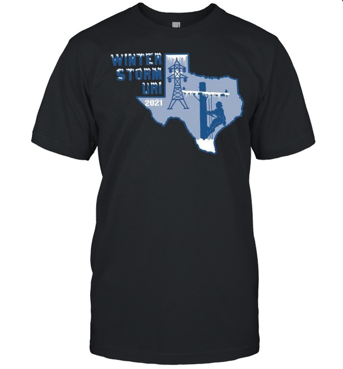 Winter Storm Uri 2021 Texas Strong shirt Classic Men's T-shirt