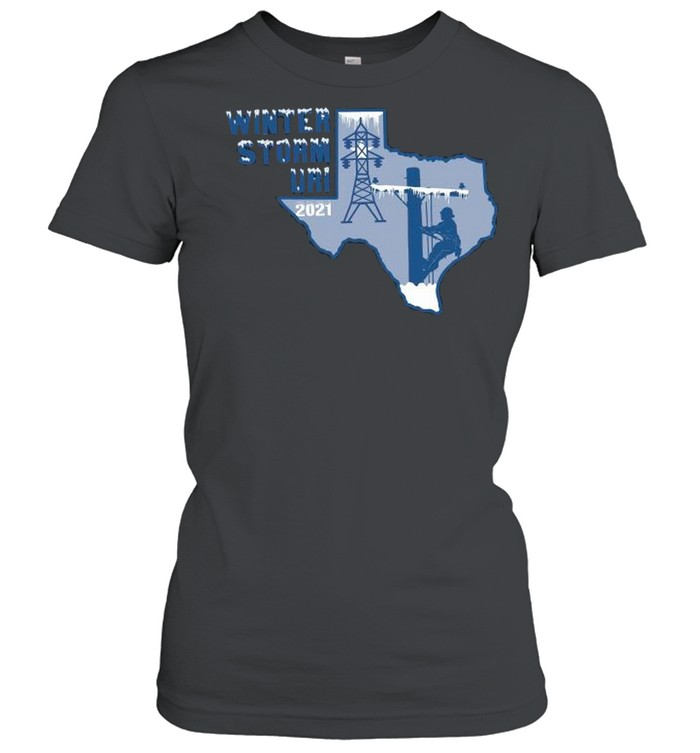 Winter Storm Uri 2021 Texas Strong shirt Classic Women's T-shirt