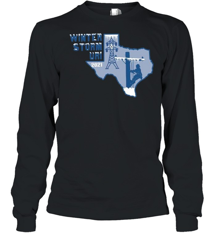 Winter Storm Uri 2021 Texas Strong shirt Long Sleeved T-shirt