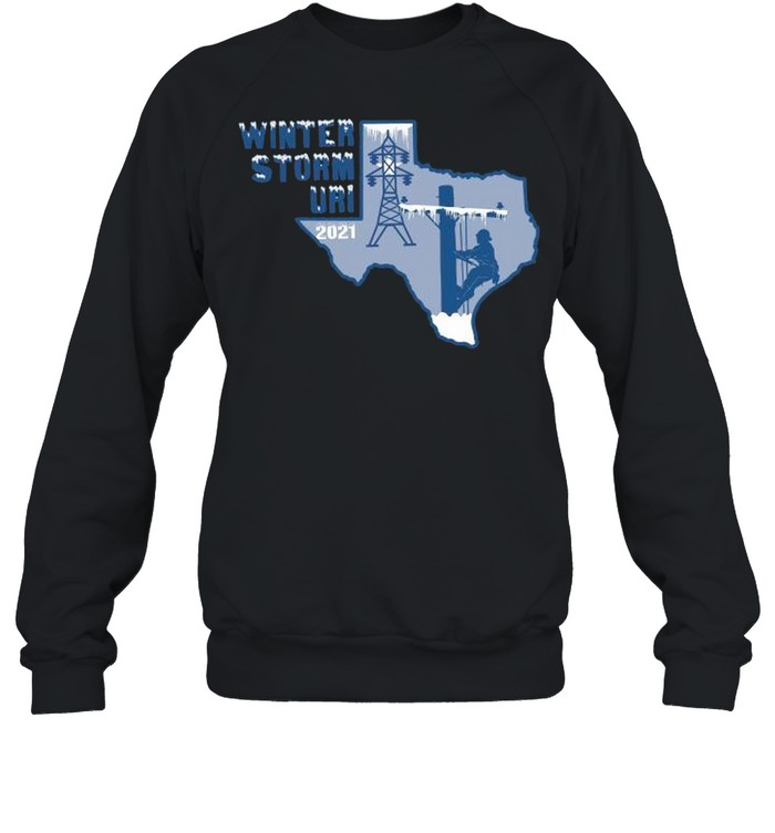 Winter Storm Uri 2021 Texas Strong shirt Unisex Sweatshirt