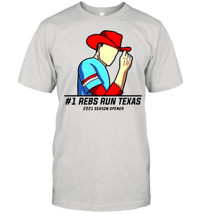 #1 Reps Run Texas 2021 Season Opener shirt Classic Men's T-shirt