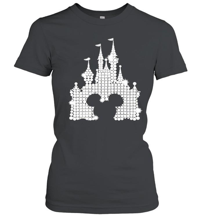 Mickey mouse Disney Diamond 2021 shirt Classic Women's T-shirt