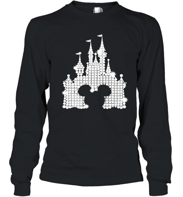 Mickey mouse Disney Diamond 2021 shirt Long Sleeved T-shirt