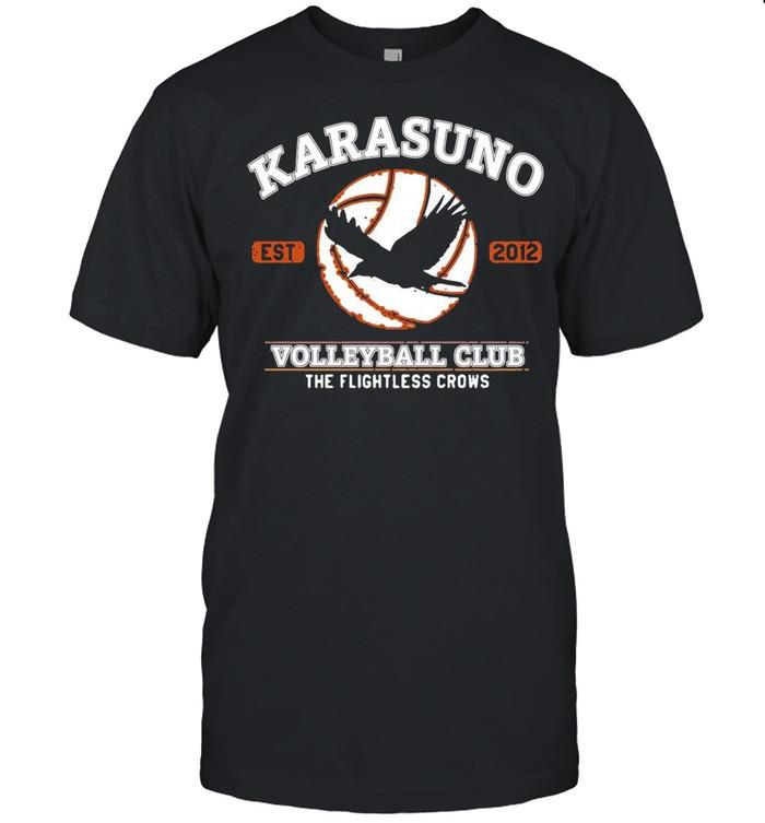 Karasuno Volleyball Club The Flightless Crows shirt Classic Men's T-shirt